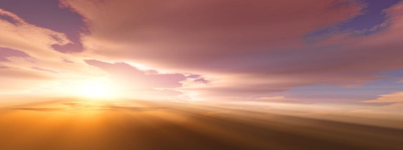 Dramatic sky at sunset / sunrise