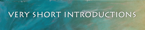 Very Short Introductions Banner