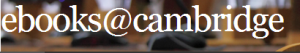 ebooks@cambridge