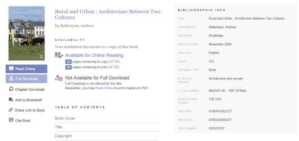 ebrary cover page