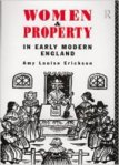Women and property in early modern England