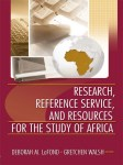 Research, Reference Service, and Resources for the Study of Afri