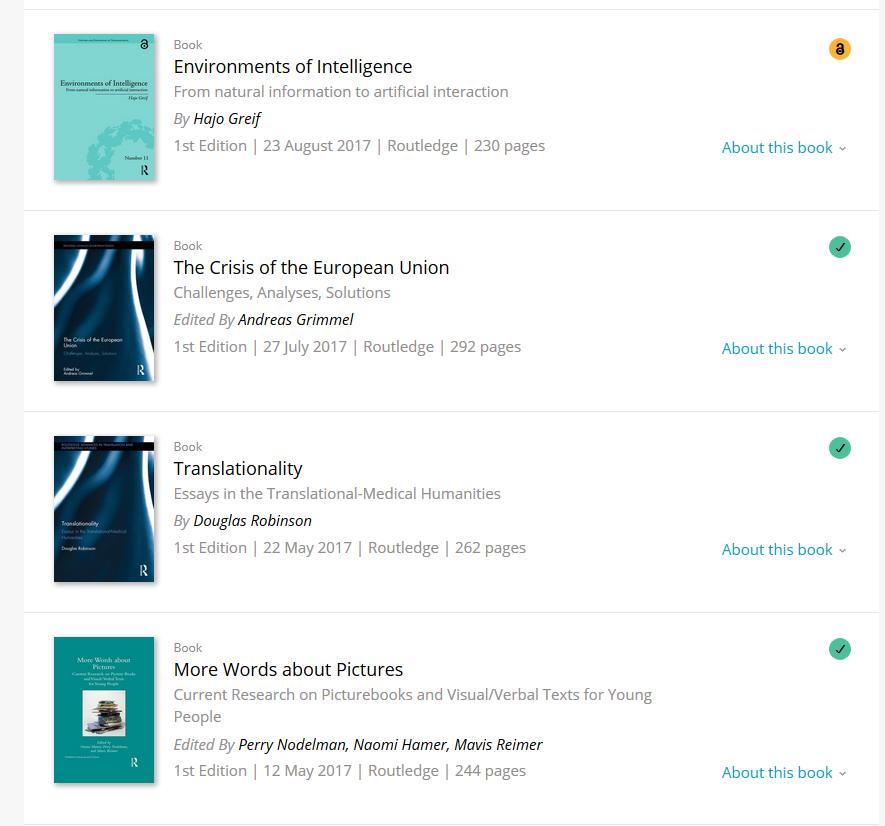 access T&F ebooks