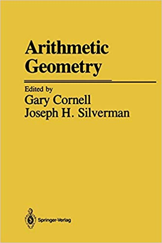Cover of Arithmetic geometry by Cornell and Silverman