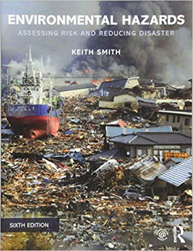 Cover of Environmental hazards 6th edition by Smith