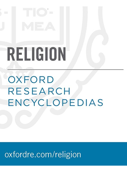 Cover of Oxford research encyclopedia of religion