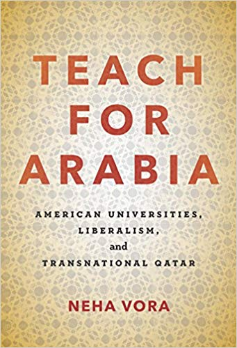 Cover of Teach for Arabia by Vora