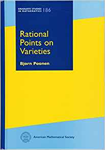 Cover of Rational points on varieties by Poonen