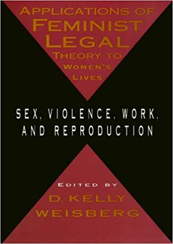 Applications of feminist legal theory to women's lives