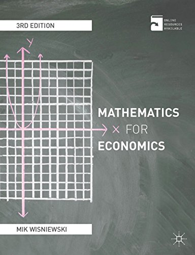 Mathematics for economics