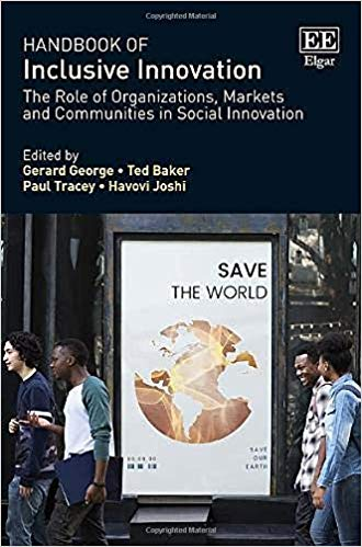 Handbook of inclusive innovation