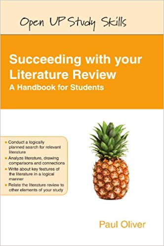 Succeeding with your literature review book cover