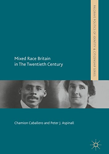 Mixed race Britain book cover