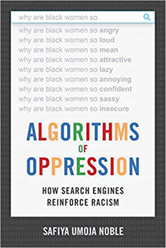 Algorithms of oppression book cover