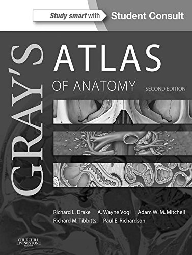 Gray's atlas of anatomy book cover