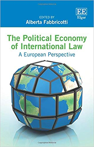 The Political economy of international law book cover