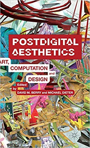 Postdigital aesthetics book cover