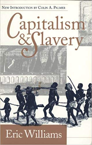 Capitalism and slavery book cover