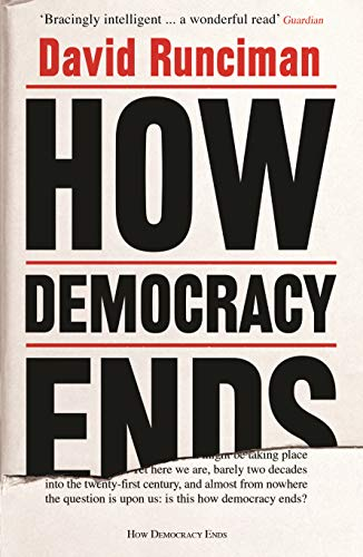 How democracy ends book cover