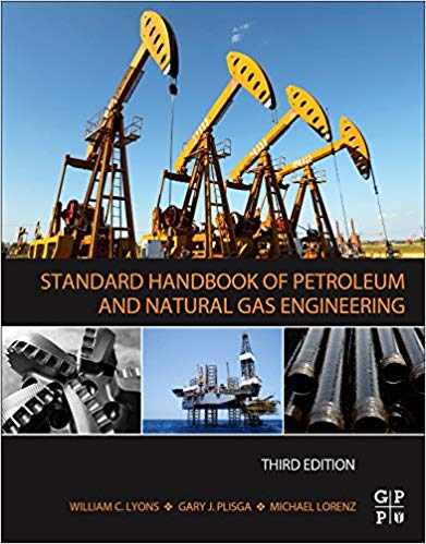 Standard handbook of petroleum book cover