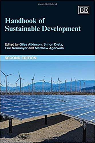Handbook of sustainable development book cover