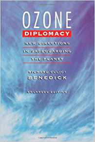 Ozone diplomacy book cover