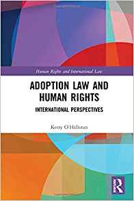 Adoption law book cover
